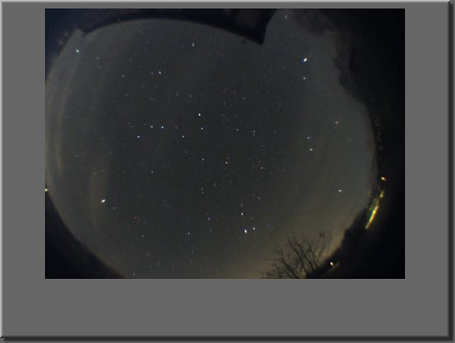 Spring night sky over Ballater - Click to Play